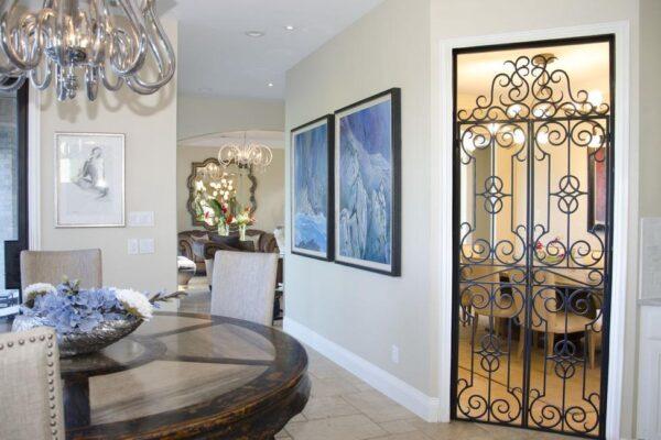 Azalea Trail Entwined Kitchen Doors