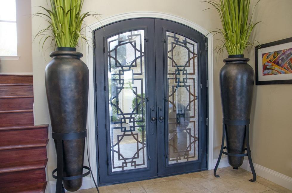 Azalea Trail Entwined Steel Doors (1)