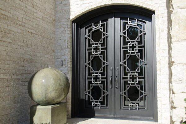 Azalea Trail Entwined Steel Doors (4)
