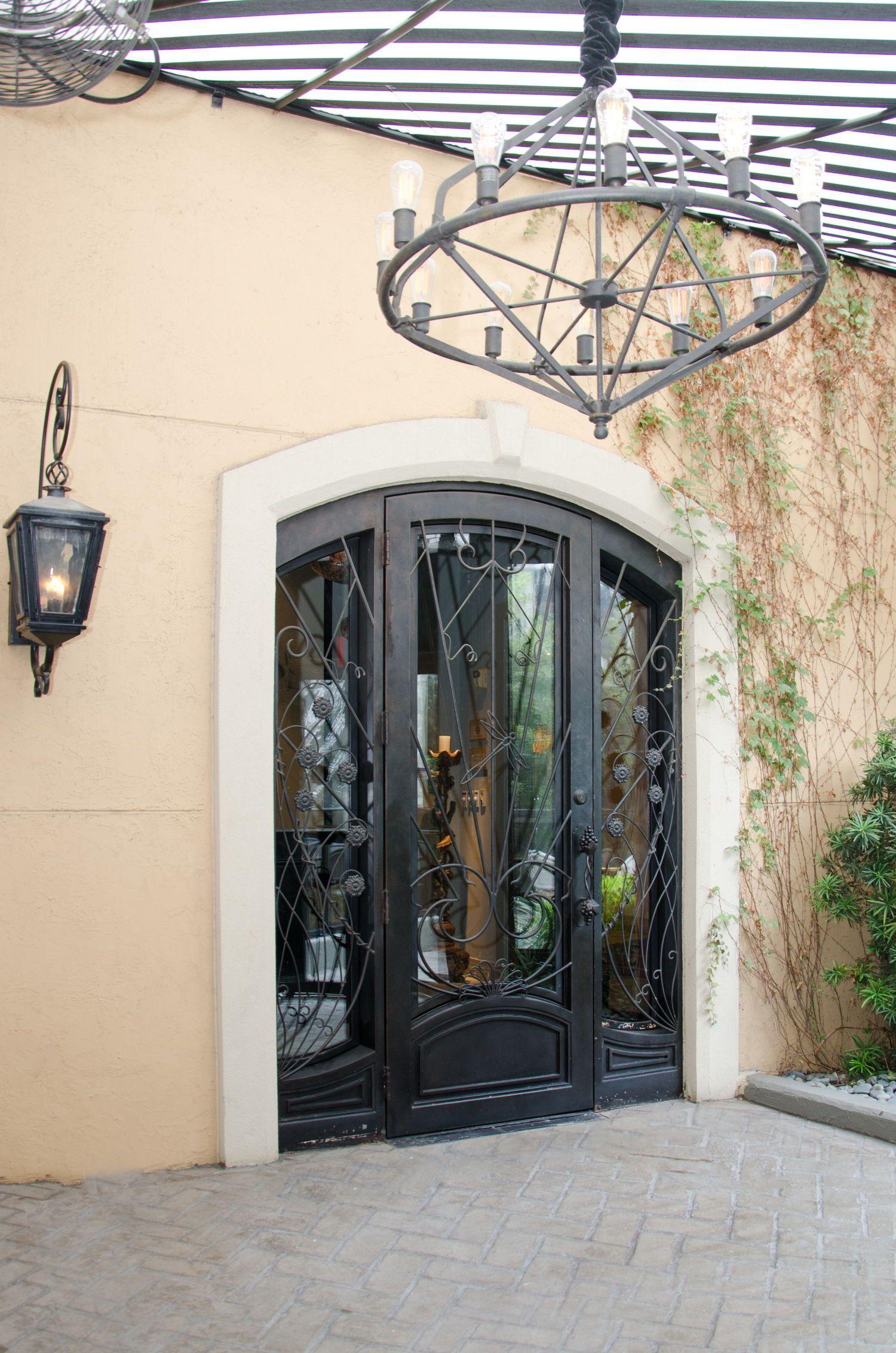 Custom Wine Doors Restaurant Dragonfly at Hotel ZaZa-2