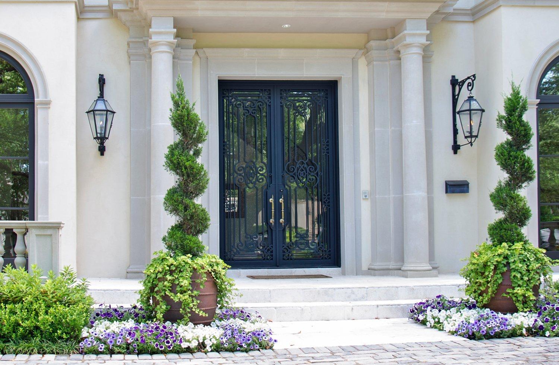 Gallery Beverly Residence Iron Steel Door