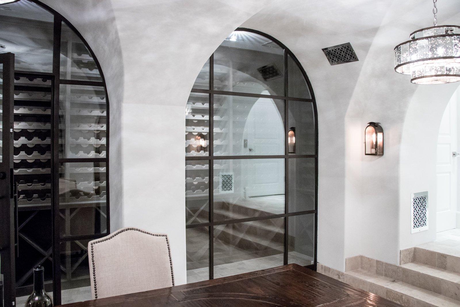 Gallery Deloache Residence Low Profile Wine Doors