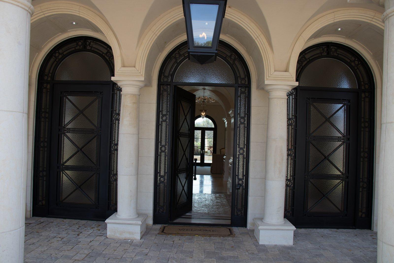 Gallery Deloache Residence South Beach Steel Iron Doors Entrance