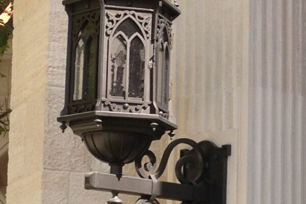 Poblet Residence Monterrey Mexico Gallery Barcelona Wall Iron Light Sconce