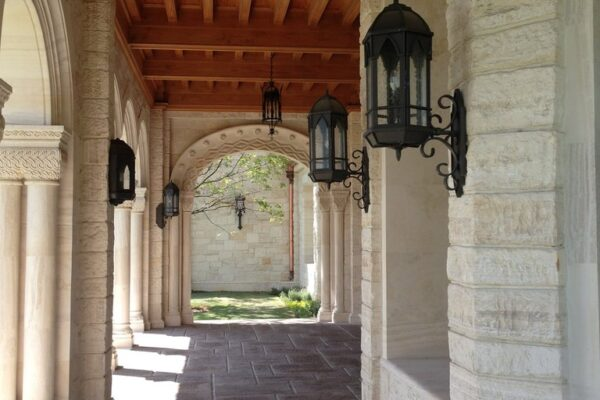Poblet Residence Monterrey Mexico Gallery Girona Iron Light Wall Sconce