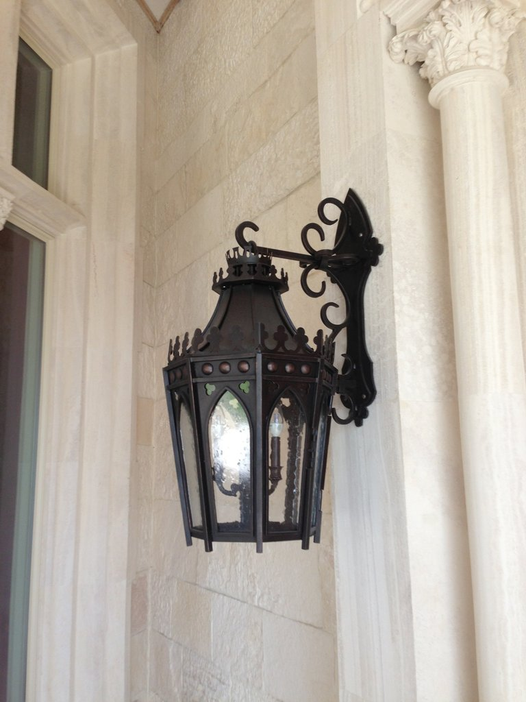 Poblet Residence Monterrey Mexico Gallery Tangier Iron Light Wall Sconce