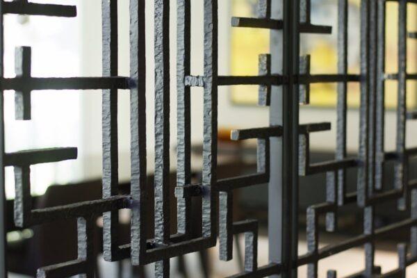 Screen Deco Wall Divider Los Sabinos Residence Gallery