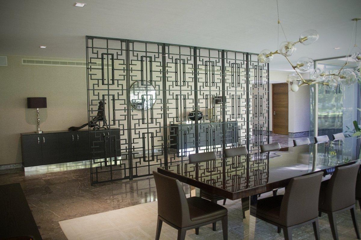 Screen Screen Deco Wall Divider Los Sabinos Residence Gallery