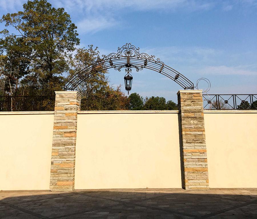 solara-custom-classic-steel-outdoor-lighting-entrance-frankfurt