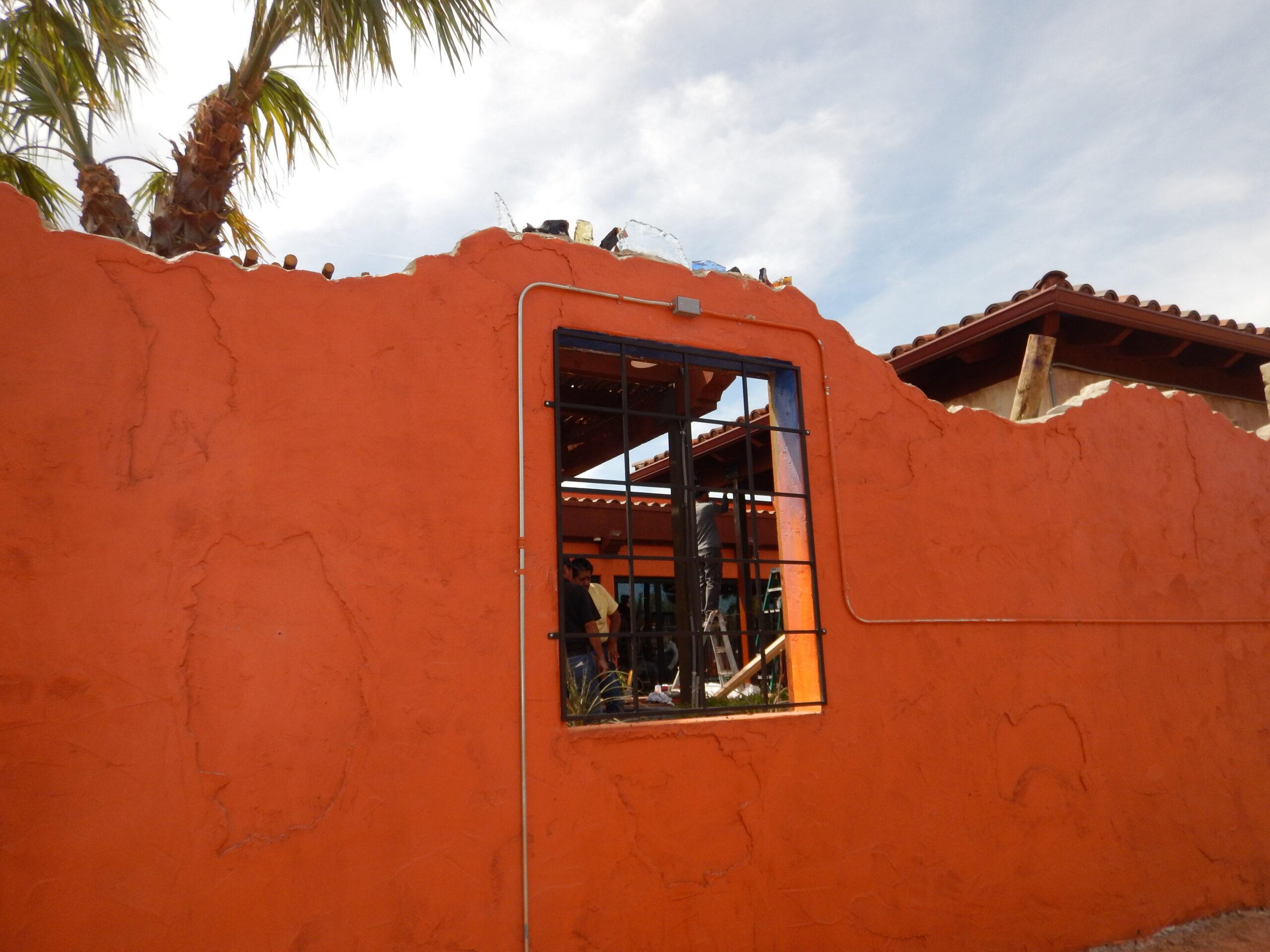 Miguel's-Restaurant-Midland-TX-Steel-commercial-Main-Door-Entry-windows-railings-lighting-Avanti-OLS-MOD-B003 (5)