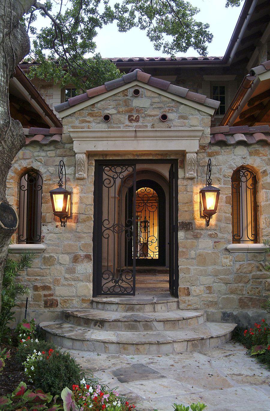Venice-iron-lighting-fixture-foyer-hall-pendant-entry-kitchen-wrought-iron-door-solara-ligthing-C003-013-EG-(14)