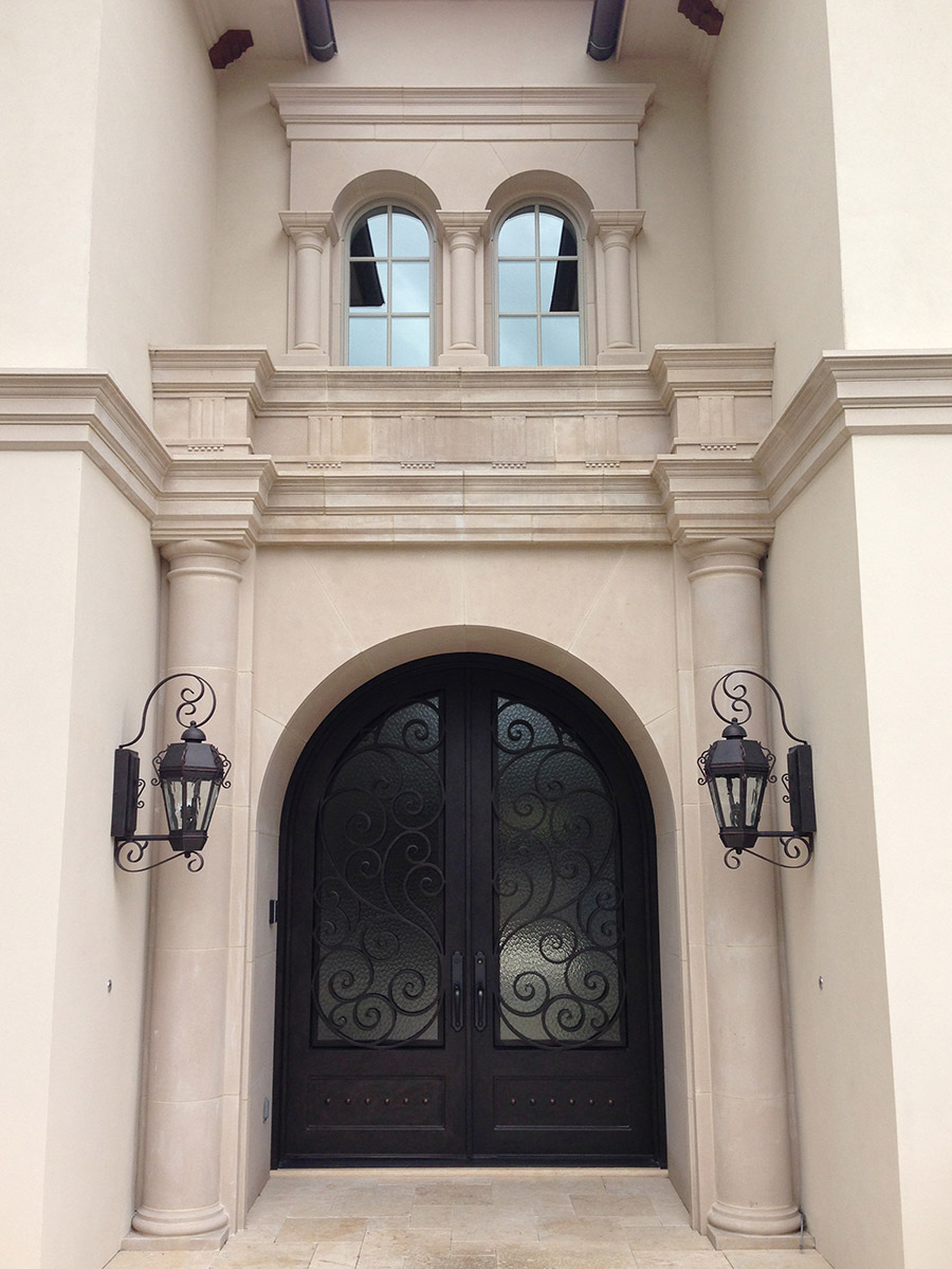 Vienna-iron-lighting-fixture-foyer-hall-pendant-entry-kitchen-wrouhgt-iron-door-solara-ligthing-D006-012-EG-(6)