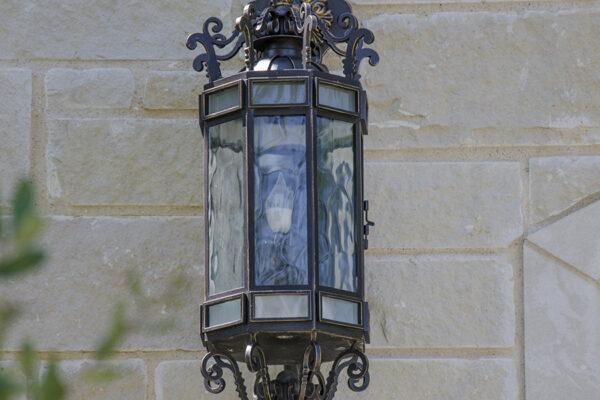 La-Mirada-Lisanti-Residence-Front-Door-Outodoor-Lighting-Steel-Alesandria-OLS-CLA-F-006-Railing--(-(4)