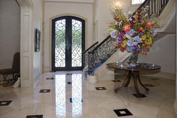 La-Mirada-Lisanti-Residence-Front-Door-Outodoor-Lighting-Steel-Alesandria-OLS-CLA-F-006-Railing--(-(70)