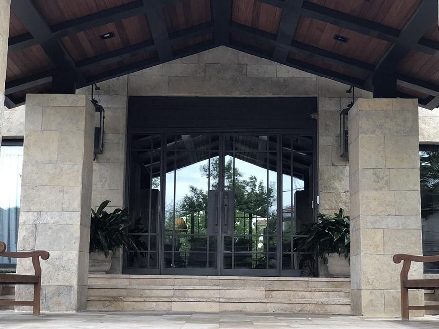 Monaco-Residence-Low-Profile-main-entry-sliding-steel-door-(2)
