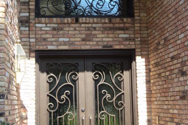 Allure CLA-S2-016 Classic Wroughtiron Steel Solara Doors (4)